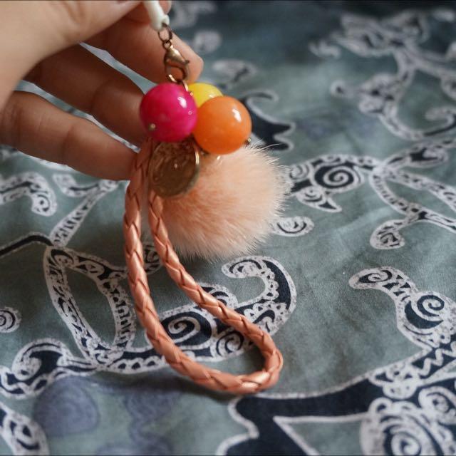 珠珠耳機孔防塵塞