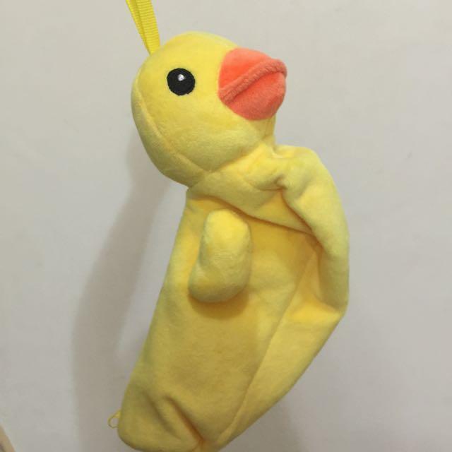 小黃鴨筆袋置物袋