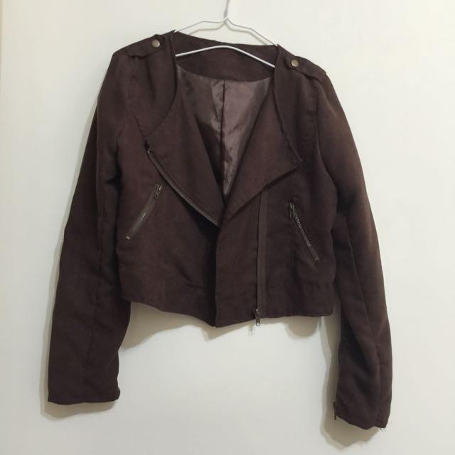 騎士短版外套