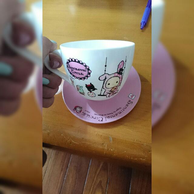 憂傷馬戲團咖啡杯(含運)