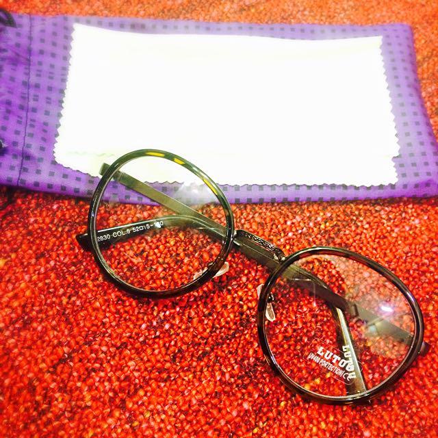 古著風 高質感眼鏡UV400