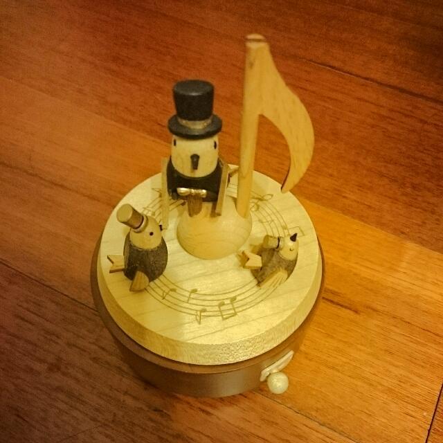音樂盒, Multi Rotate Music Box, 360度, 音樂鈴, 日本機心, 全新