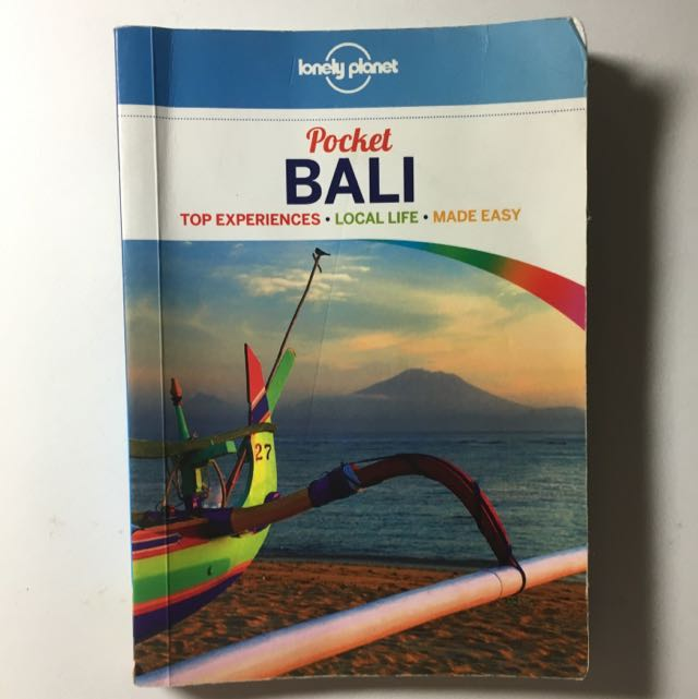 Bali Travel Guide Lonely Planet Books Stationery On Carousell
