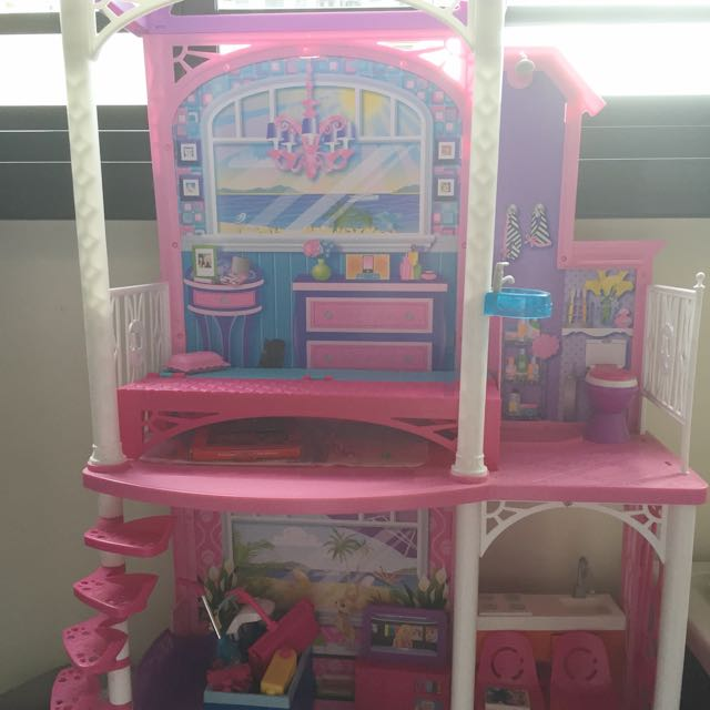 Barbie Dream House Bought From Toy R Us Price At 89