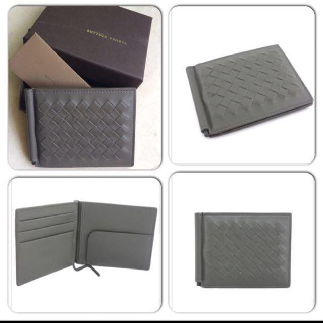 Bottega Veneta Wallet With Money Clip