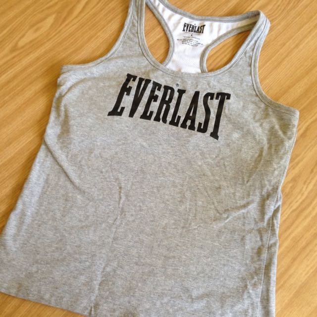EVERLAST RACER BACK GYM TOP SIZE L