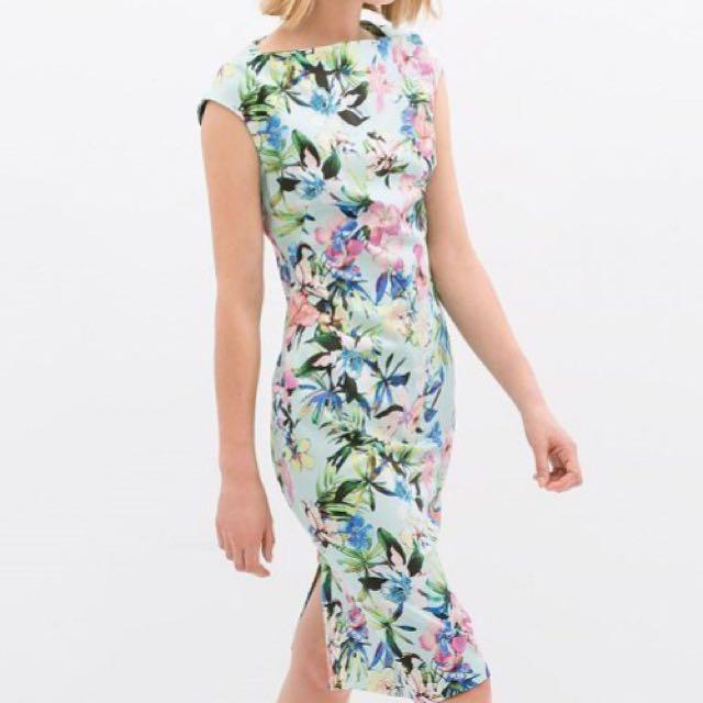 Sabrina Flowery Dress
