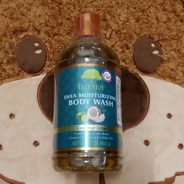 【降價】TreeHut*樹上小屋萊姆椰子沐浴乳