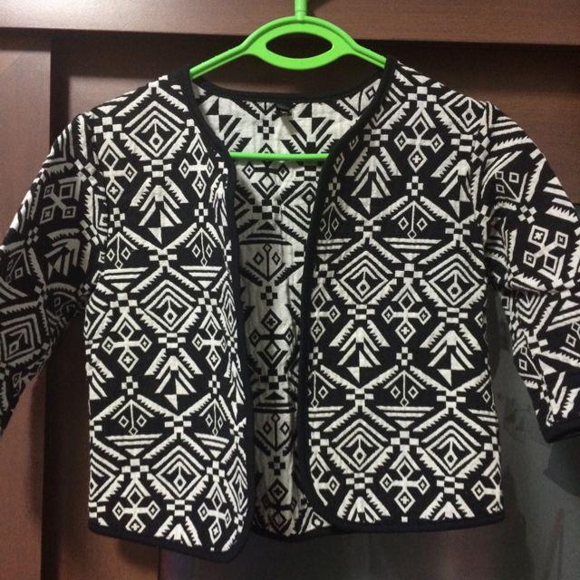 Tribal Print Outerwear