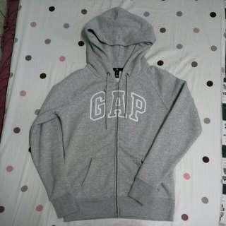 (保留中)Gap連帽外套 淺灰s