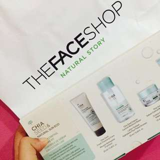 THE FACE SHOP TRAVEL KIT PRODUCTS