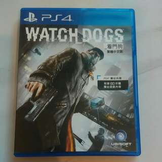 PS4-看門狗~可換片交流喔!😁