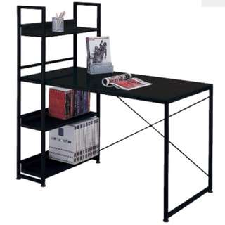 [Pending] QYOP Tempered Glass Metallic Book-up Table In Light Grey