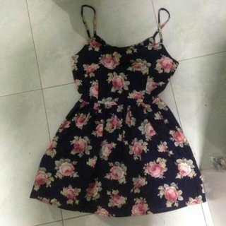 Floral Spag Dress