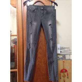 超激瘦牛仔褲