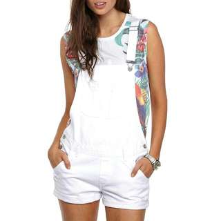 Cotton On Dungaree in White