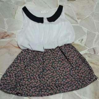 Peterpan Collar Tunic / Babydoll Dress