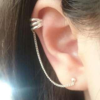 🆕純銀耳骨夾耳環 😘
