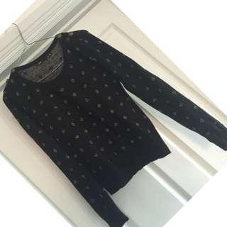 Polka dot jumper