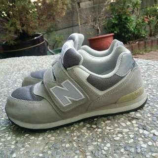 newbalance 灰色 童鞋