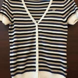 Scottish House 短袖針織小外套 9.8成新 (含郵)