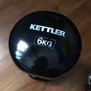6kg Dumbbell ( Only 1) Not A Pair.