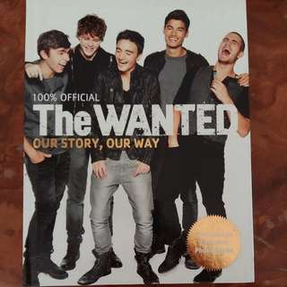 The Wanted. Our Story, Our Way. Autobiography Book