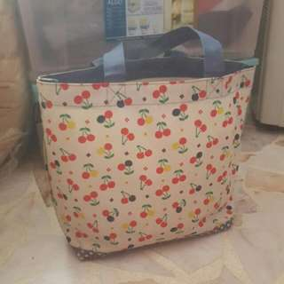 Cute ROOTOTE Cherry Bag
