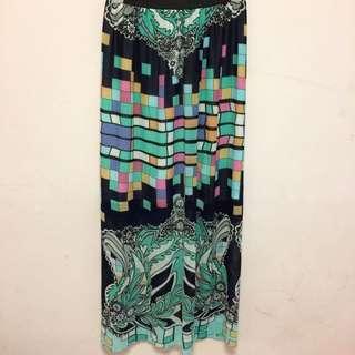 Long Maxi Pastel Skirt