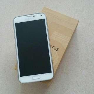 Samsung White S5 4g+ 16GB