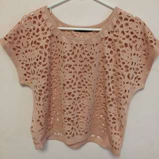 👗PENDING👗 Ally Fashion Top Lace Patterned