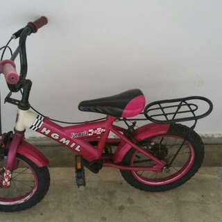 2nd Hand Pink Bicycle For Female Toddler