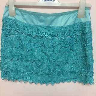 Ally Laced Mini Skirt