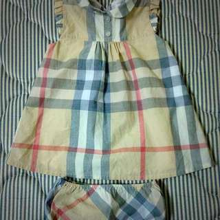 100% Authentic!!! Preloved Burberry Children Dress