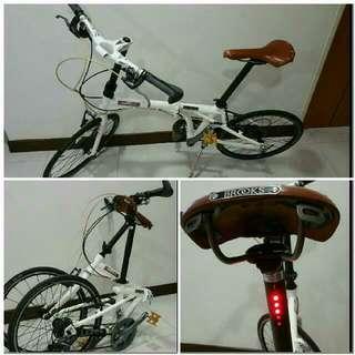 Brand New Brooks Foldable Bike