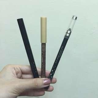 戀愛魔鏡+Kate+solone 眼線膠筆(深咖啡)超划算3件組