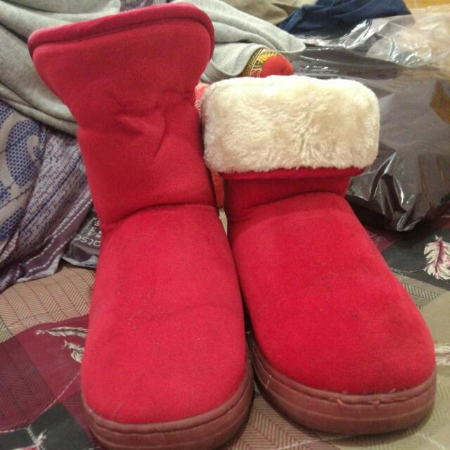 雪靴(可兩種穿法