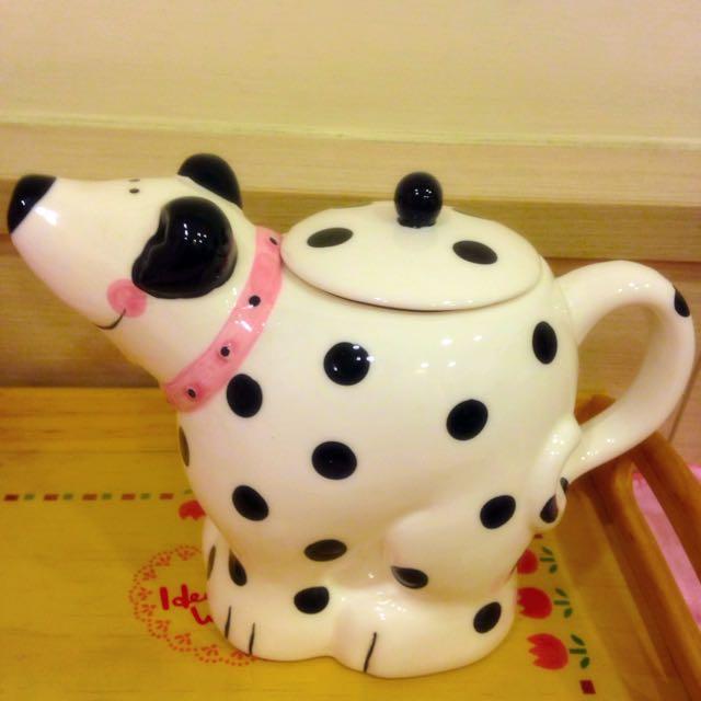 可愛狗狗茶壺
