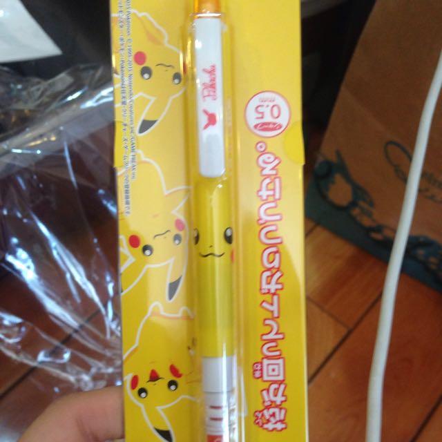 皮卡丘自動鉛筆