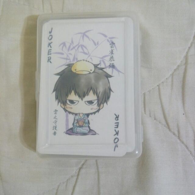 家庭教師撲克牌