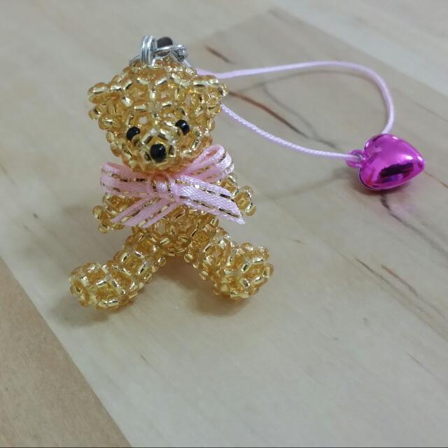 串珠🐻泰迪熊(金)