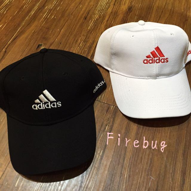 艾迪達 愛迪達 Adidas 刺繡 老帽款 彎帽 棒球帽