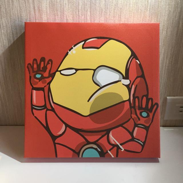 搞怪無框畫 ‼️鋼鐵人Iron Man