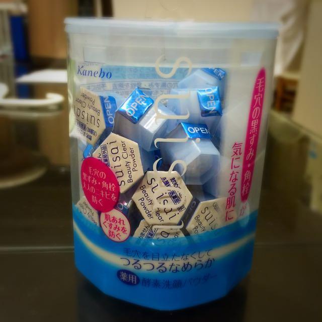 日本 Kanebo suisai酵素洗顏粉 (保濕款)32顆 含運(待匯款)