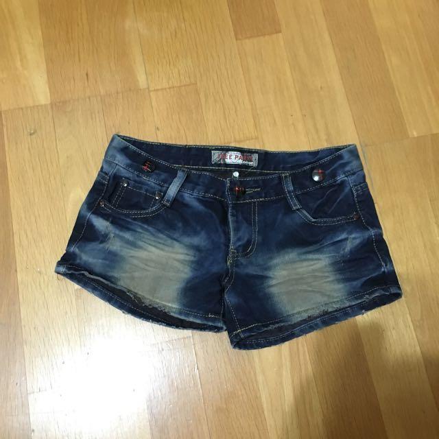 牛仔短褲 M