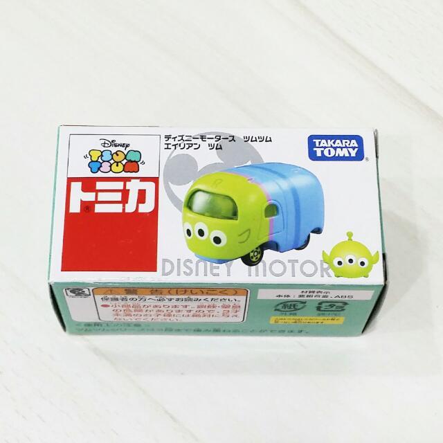 日本 TOMY TOMICA 多美 Disney 迪士尼 三眼怪 小汽車