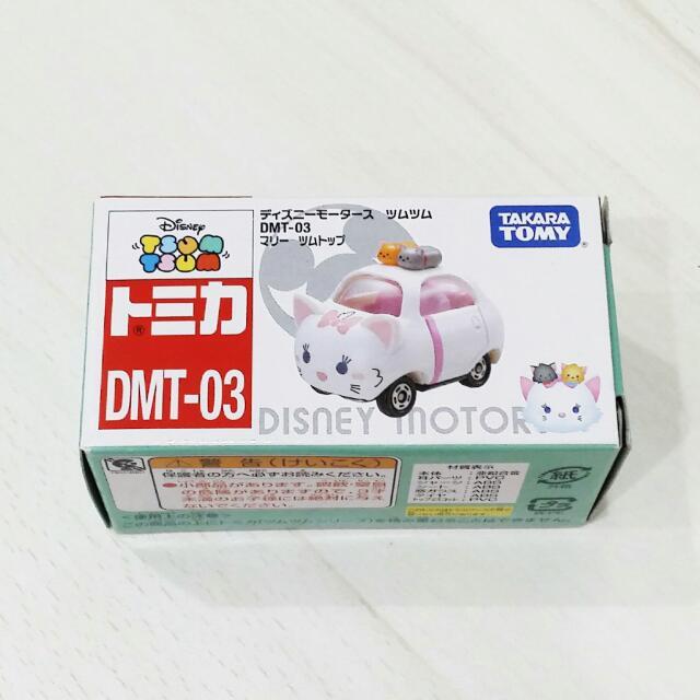 日本 TOMY TOMICA 多美 Disney 迪士尼 瑪莉貓 小汽車