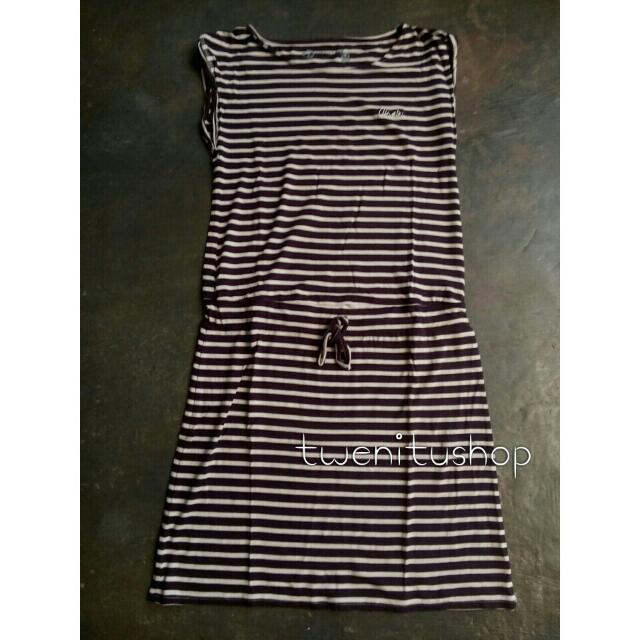 Airwalk stripes dress