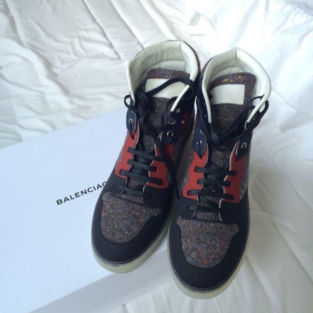 Balenciaga High Top Shoes