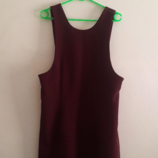 Glassons Pinafore Dress Size 12